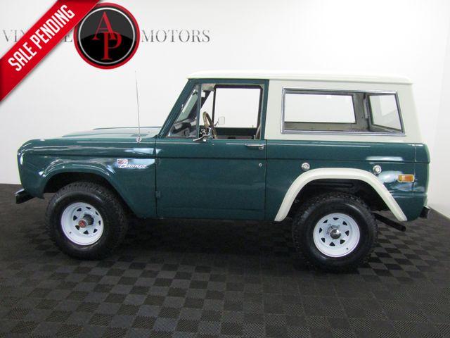 1971 Ford BRONCO RESTORED 4X4 DUAL TANK