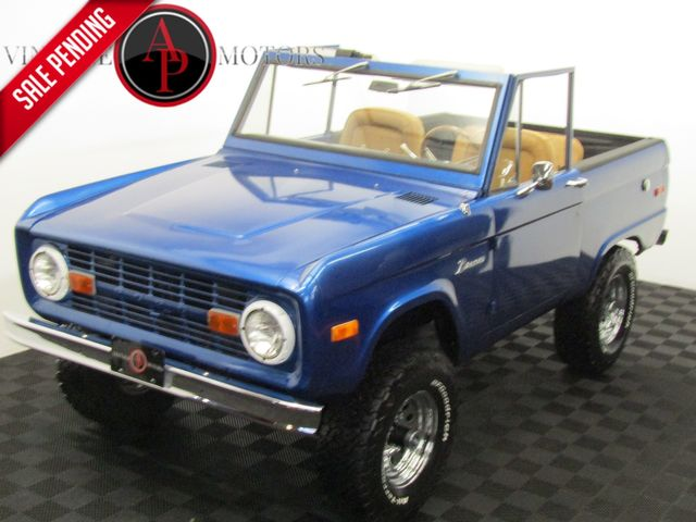 1971 Ford BRONCO UN CUT SOFT TOP 4X4
