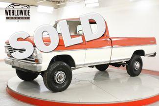 1971 Ford F250 HIGH BOY RANGER FRAME OFF RESTORED V8 1K MI | Denver, CO | Worldwide Vintage Autos in Denver CO