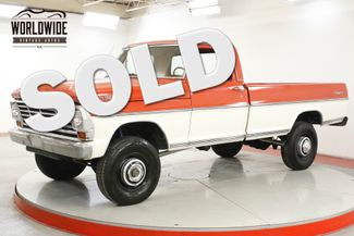 1971 Ford F250 HIGH BOY RANGER FRAME OFF RESTORED V8 1K MI | Denver, CO | Worldwide Vintage Autos in Denver CO