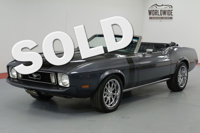 1973 Ford MUSTANG  POWER TOP 302V8 C4 AUTO TRANSMISSION. PS PB  | Denver, CO | Worldwide Vintage Autos