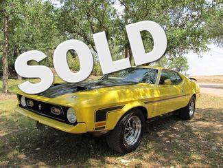 1971 Ford Mustang Mach 1  429 W Ram AIr Liberty Hill, Texas