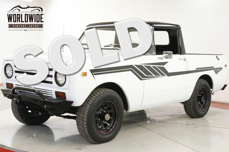 1971 Internatioal SCOUT 4x4 345 V8 RARE 1/2 CAB FACTORY SHEET METAL  | Denver, CO | Worldwide Vintage Autos