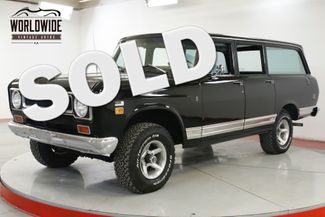 1971 International TRAVELALL EXTREMELY RARE 4X4 304 V8 AUTO PS PB AC | Denver, CO | Worldwide Vintage Autos in Denver CO