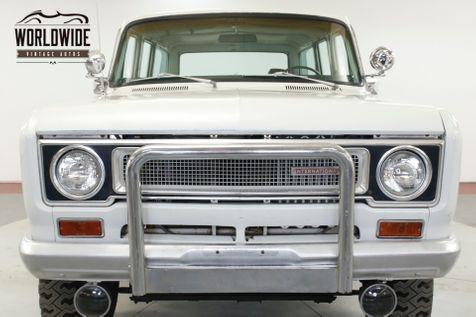 1971 International TRAVELALL TIME CAPSULE AZ TRUCK LOW MI MECHANICOWNED AC | Denver, CO | Worldwide Vintage Autos in Denver, CO