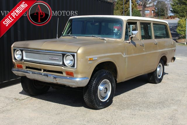 1971 International TRAVELALL V8 4X4 COLORADO TRUCK
