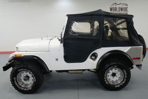 1971 Jeep CJ5 FRAME OFF RESTORED! 6K MILES! OVERDRIVE. | Denver, CO | Worldwide Vintage Autos in Denver, CO