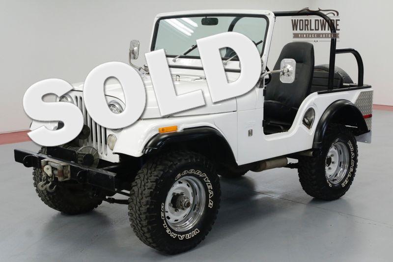 1971 Jeep CJ5 FRAME OFF RESTORED! 6K MILES! OVERDRIVE. | Denver, CO | Worldwide Vintage Autos