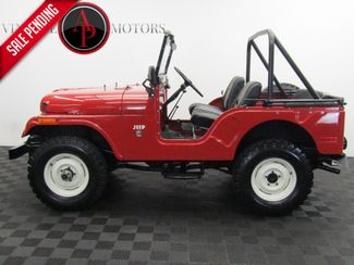 1971 Jeep CJ5 DAUNTLESS V6 PTO WINCH in Statesville, NC 28677