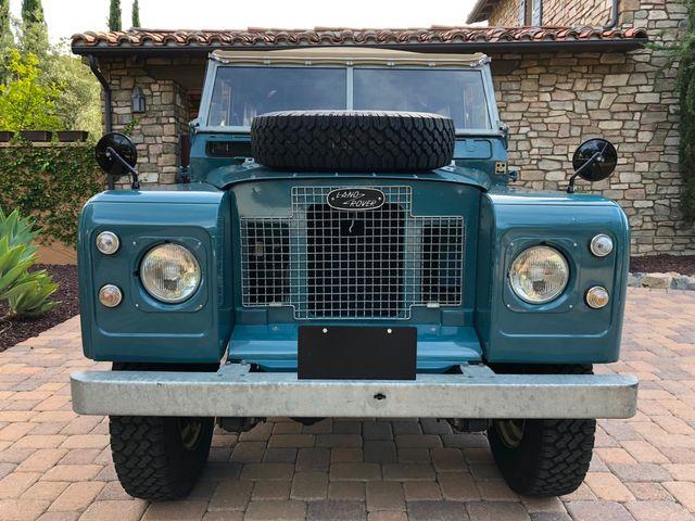 1971 Land Rover Series IIA 88 Series IIA 88 La Jolla, Califorina  12