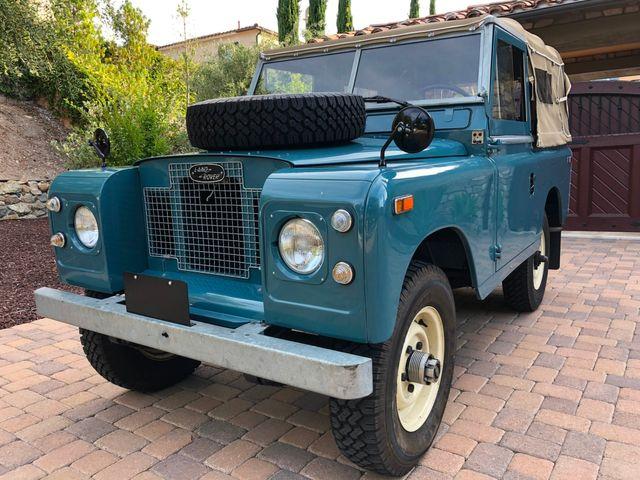 1971 Land Rover Series IIA 88 Series IIA 88 La Jolla, Califorina  13