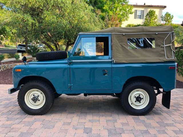 1971 Land Rover Series IIA 88 Series IIA 88 La Jolla, Califorina  0