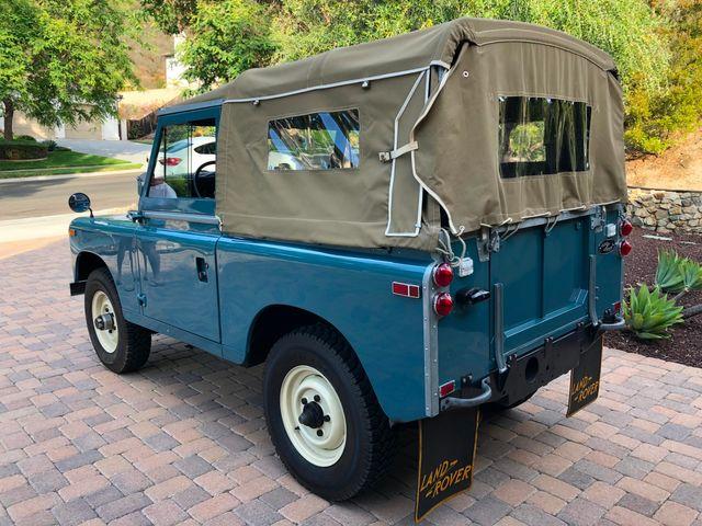 1971 Land Rover Series IIA 88 Series IIA 88 La Jolla, Califorina  14