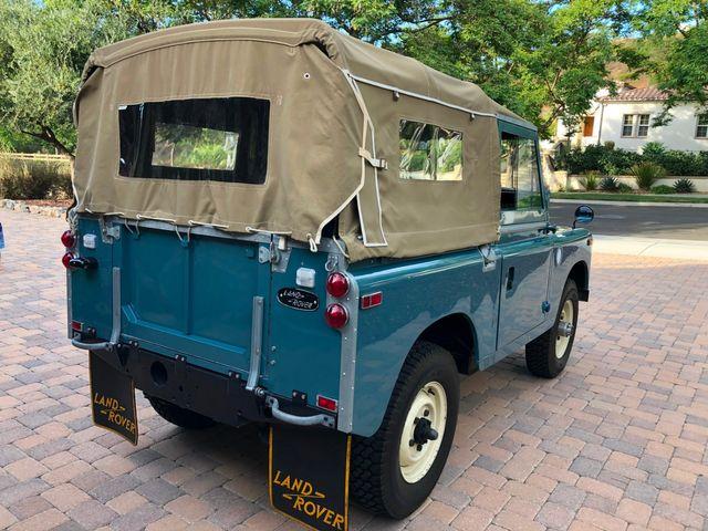 1971 Land Rover Series IIA 88 Series IIA 88 La Jolla, Califorina  18