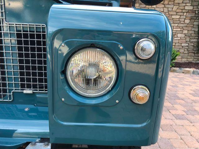 1971 Land Rover Series IIA 88 Series IIA 88 La Jolla, Califorina  3