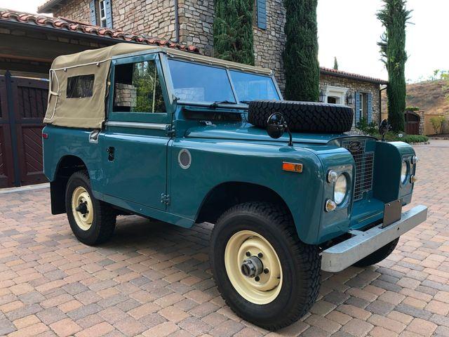 1971 Land Rover Series IIA 88 Series IIA 88 La Jolla, Califorina  22