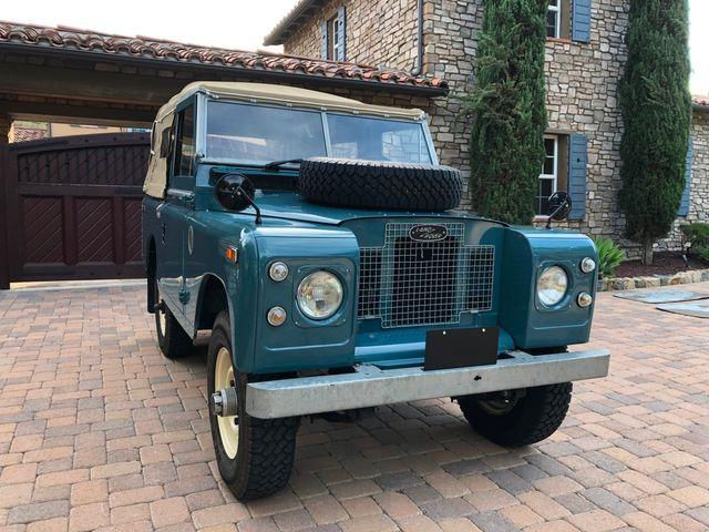 1971 Land Rover Series IIA 88 Series IIA 88 La Jolla, Califorina  23
