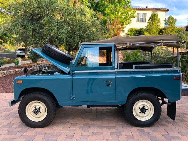 1971 Land Rover Series IIA 88 Series IIA 88 La Jolla, Califorina  42