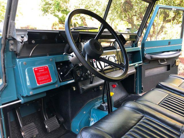 1971 Land Rover Series IIA 88 Series IIA 88 La Jolla, Califorina  7