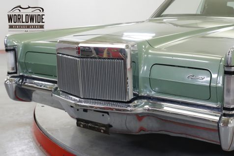 1971 Lincoln CONTINENTAL  MARKIII COUPE FACTORY AIR LEATHER PS PB PW   Denver, CO   Worldwide Vintage Autos in Denver, CO