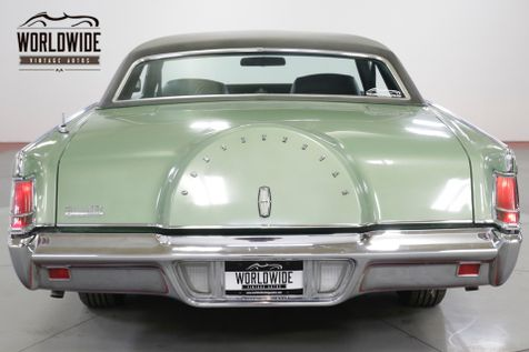 1971 Lincoln CONTINENTAL  MARKIII COUPE FACTORY AIR LEATHER PS PB PW | Denver, CO | Worldwide Vintage Autos in Denver, CO
