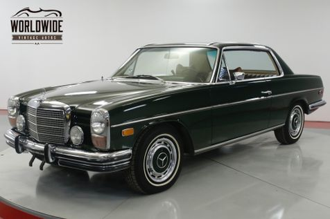 1971 Mercedes-Benz 250C COUPE 1 OWNER CA CAR 44K ORIGINAL MILES AC | Denver, CO | Worldwide Vintage Autos in Denver, CO