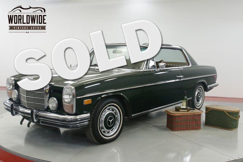 1971 Mercedes 250C COUPE 1 OWNER CA CAR 44K ORIGINAL MILES AC | Denver, CO | Worldwide Vintage Autos