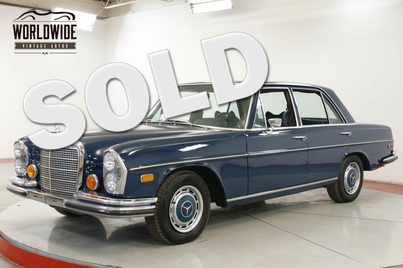 1971 Mercedes Benz 280SE RARE AC COLLECTOR GRADE ORGINAL EQUIPMENT   Denver, CO   Worldwide Vintage Autos