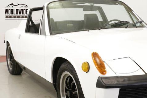 1971 Porsche 914 1.7L. 5 SPEED. 55K MILES. TARGA    Denver, CO   Worldwide Vintage Autos in Denver, CO