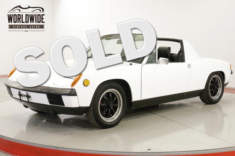 1971 Porsche 914 1.7L. 5 SPEED. 55K MILES. TARGA  | Denver, CO | Worldwide Vintage Autos