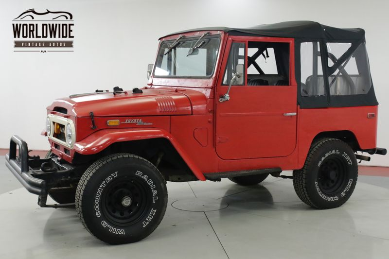 1971 Toyota FJ40 350 V8 3-SPEED 4X4 CONVERTIBLE TOP | Denver, CO | Worldwide Vintage Autos