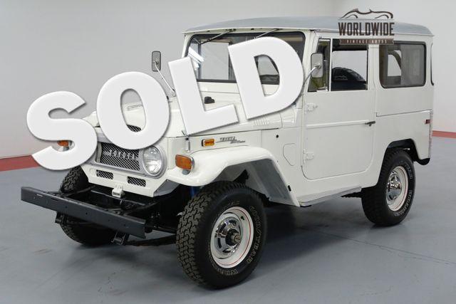 1971 Toyota LAND CRUISER RESTORED AND UNCUT!  | Denver, CO | Worldwide Vintage Autos in Denver CO