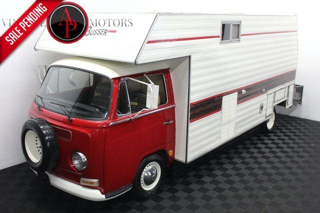 """1971 Volkswagen Camper Van """"SUPER BUSSER"""" RV"""