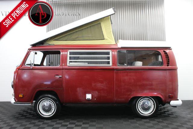 1971 Volkswagen Bus WESTFALIA POPTOP CAMPER