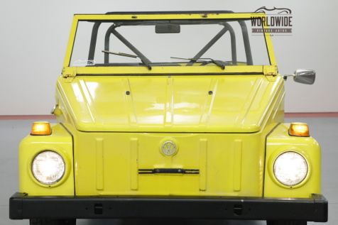 1974 Volkswagen THING COLLECTOR CONVERTIBLE! DRY WY CAR. DRIVER!  | Denver, CO | Worldwide Vintage Autos in Denver, CO