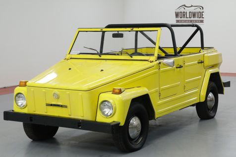 1974 Volkswagon THING COLLECTOR CONVERTIBLE! DRY WY CAR. DRIVER!  | Denver, CO | Worldwide Vintage Autos in Denver, CO