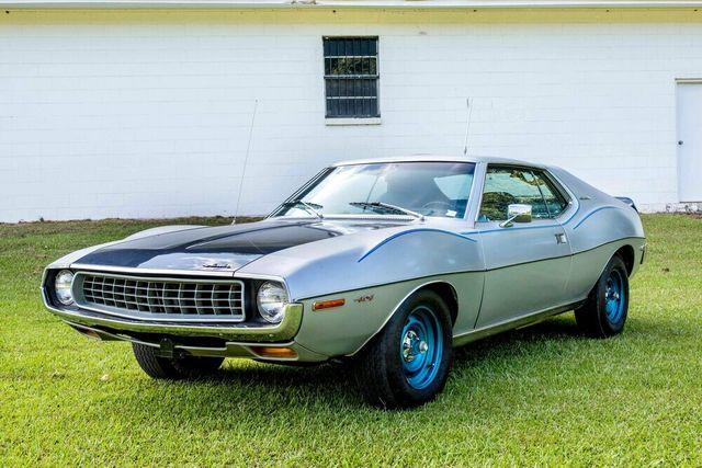 "1972 American Motors JAVELIN SST 401  1 OF 82  ""POLICE SPECIAL"" Phoenix, Arizona 66"