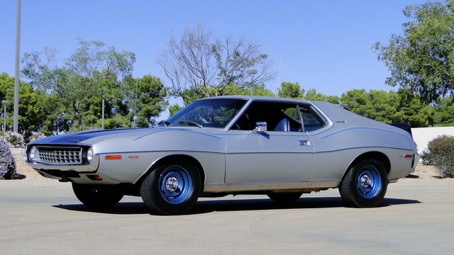 "1972 American Motors JAVELIN SST 401  1 OF 82  ""POLICE SPECIAL"" Phoenix, Arizona 11"