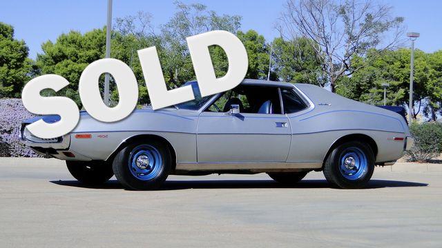 "1972 American Motors JAVELIN SST 401  1 OF 82  ""POLICE SPECIAL"" Phoenix, Arizona 0"