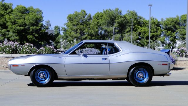 "1972 American Motors JAVELIN SST 401  1 OF 82  ""POLICE SPECIAL"" Phoenix, Arizona 4"