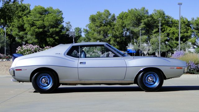 "1972 American Motors JAVELIN SST 401  1 OF 82  ""POLICE SPECIAL"" Phoenix, Arizona 6"