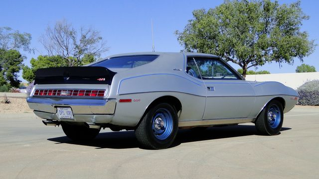 "1972 American Motors JAVELIN SST 401  1 OF 82  ""POLICE SPECIAL"" Phoenix, Arizona 31"