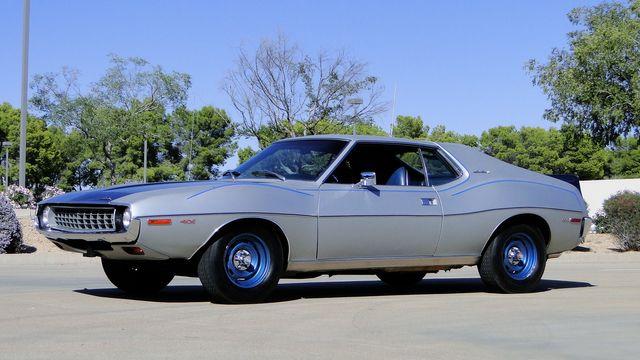 "1972 American Motors JAVELIN SST 401  1 OF 82  ""POLICE SPECIAL"" Phoenix, Arizona 34"