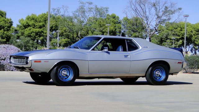 "1972 American Motors JAVELIN SST 401  1 OF 82  ""POLICE SPECIAL"" Phoenix, Arizona 37"