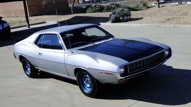 "1972 American Motors JAVELIN SST 401  1 OF 82  ""POLICE SPECIAL"" Phoenix, Arizona 38"