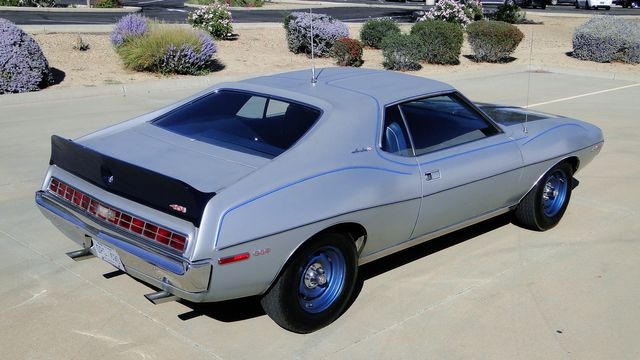 "1972 American Motors JAVELIN SST 401  1 OF 82  ""POLICE SPECIAL"" Phoenix, Arizona 33"