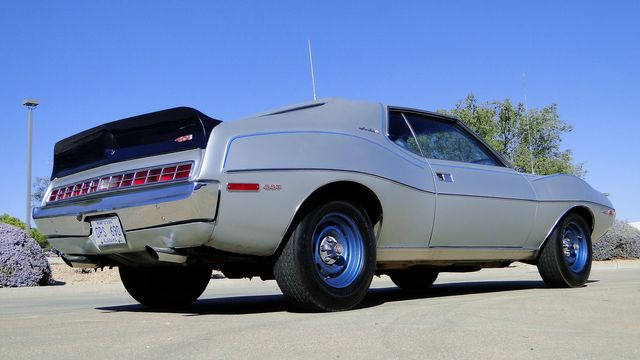 "1972 American Motors JAVELIN SST 401  1 OF 82  ""POLICE SPECIAL"" Phoenix, Arizona 28"