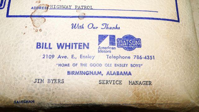 "1972 American Motors JAVELIN SST 401  1 OF 82  ""POLICE SPECIAL"" Phoenix, Arizona 60"