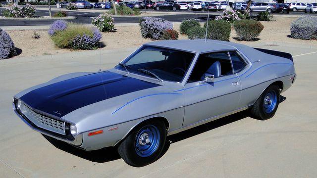 "1972 American Motors JAVELIN SST 401  1 OF 82  ""POLICE SPECIAL"" Phoenix, Arizona 42"