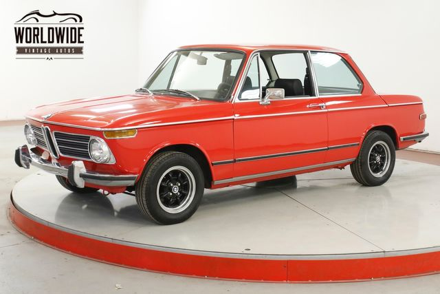 1972 BMW 2002TII 2 OWNER HISTORY LOW MILES COLLECTOR GRADE  | Denver, CO | Worldwide Vintage Autos in Denver CO